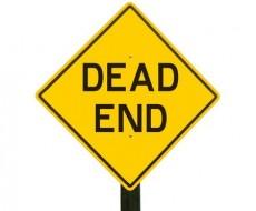Dead End signpost