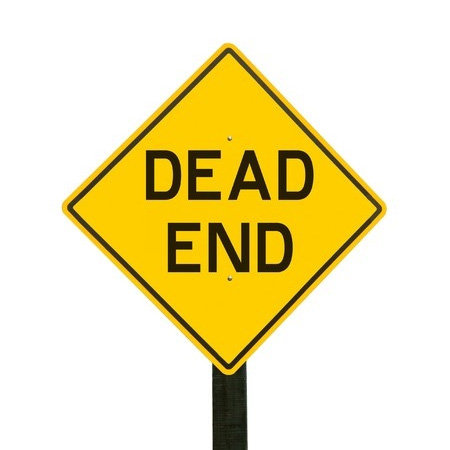 Dead End signpost