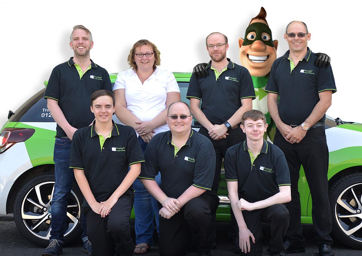 The Priority IT team