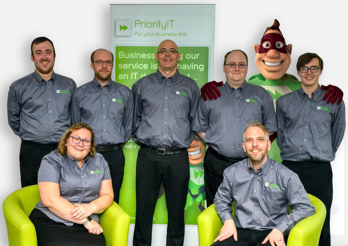 The Priority IT team