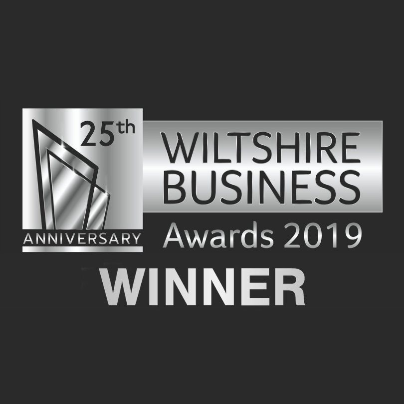 Wiltshire Business Awards winner logo